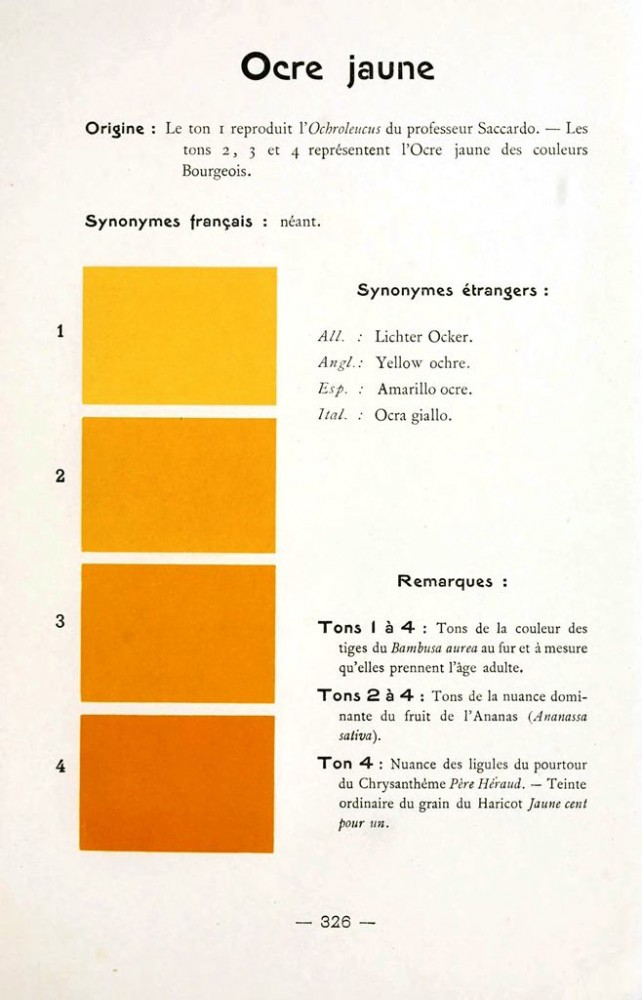 Color - Multi color - French color chart - (68)