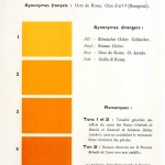 Color - Multi color - French color chart - (69)
