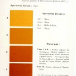 Color - Multi color - French color chart - (70)