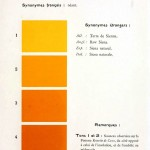 Color - Multi color - French color chart - (71)