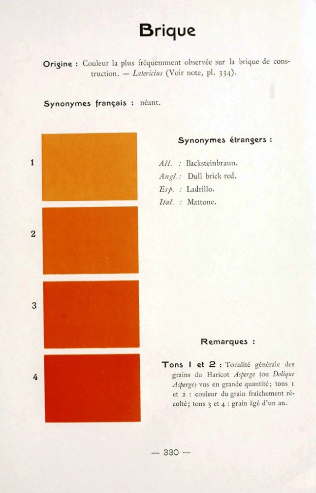 Color - Multi color - French color chart - (72)