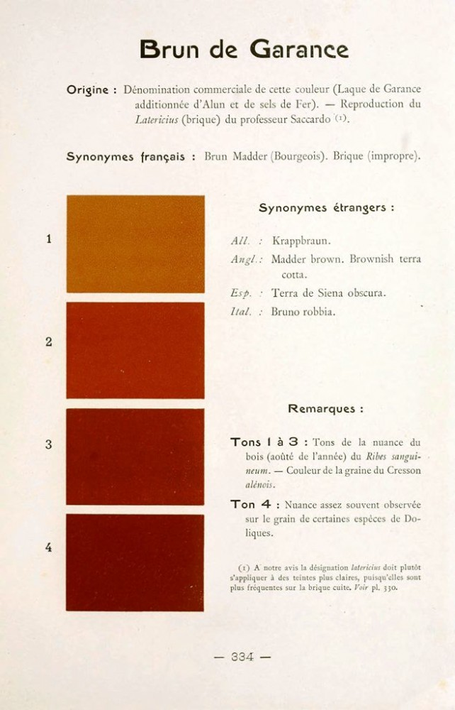 Color - Multi color - French color chart - (76)