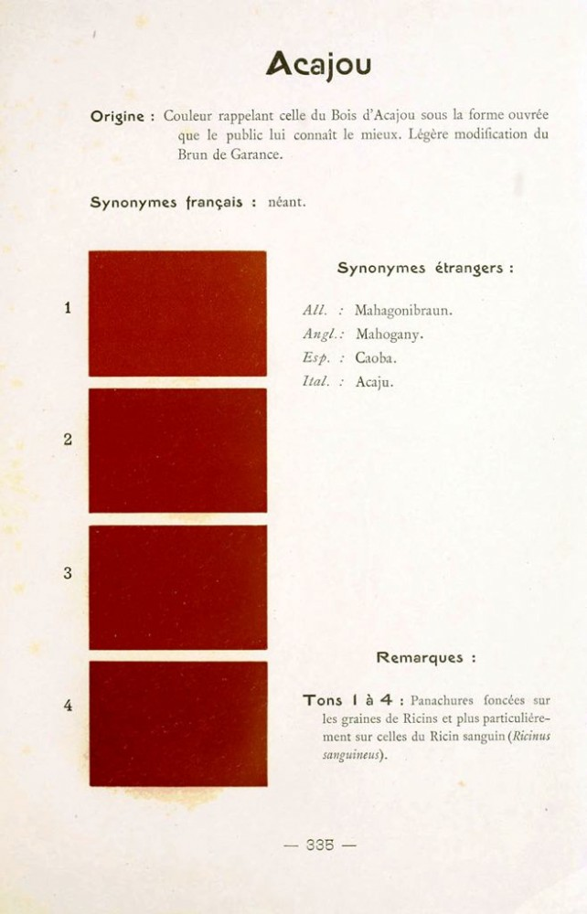 Color - Multi color - French color chart - (77)