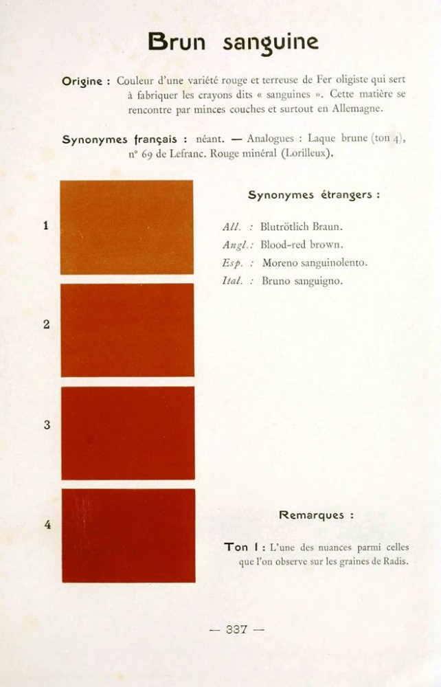 Color - Multi color - French color chart - (79)