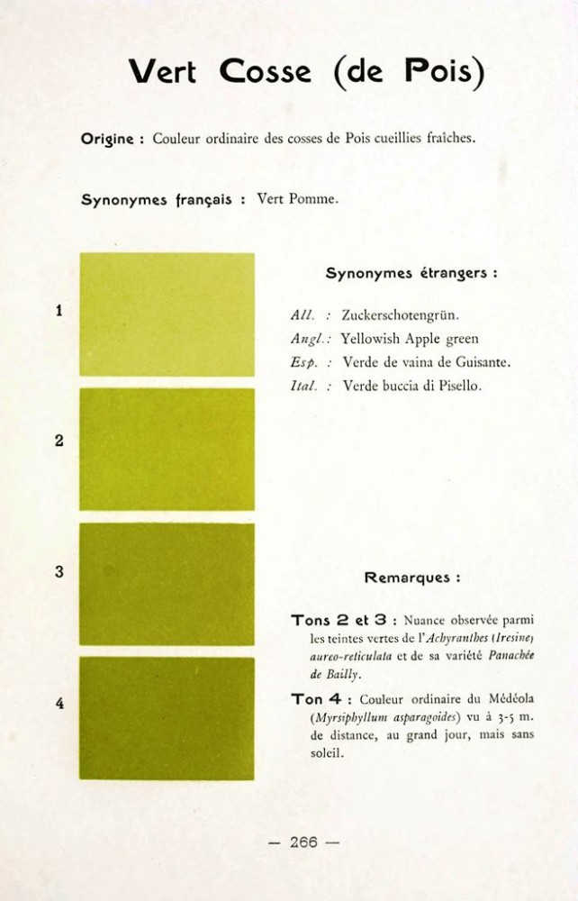 Color - Multi color - French color chart - (8)