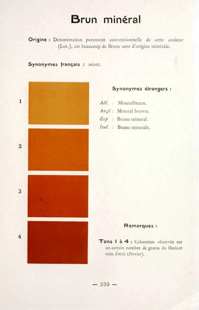 Color - Multi color - French color chart - (81)
