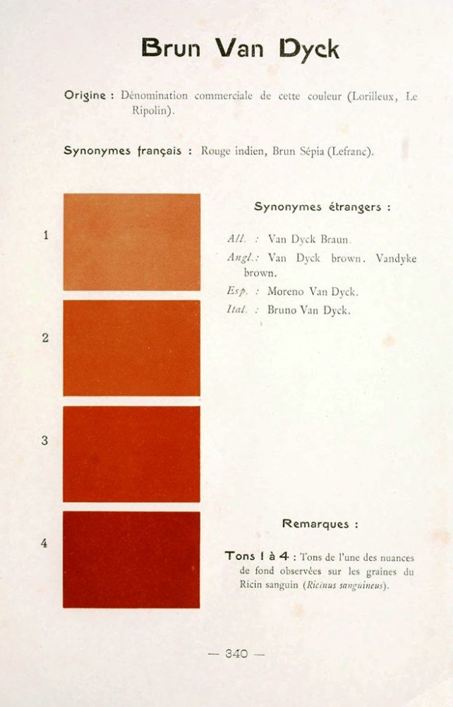 Color - Multi color - French color chart - (82)