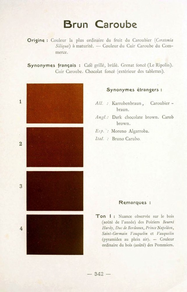 Color - Multi color - French color chart - (84)