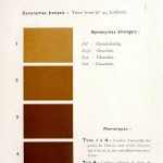 Color - Multi color - French color chart - (85)