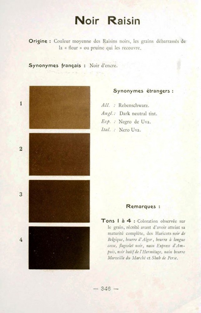 Color - Multi color - French color chart - (88)