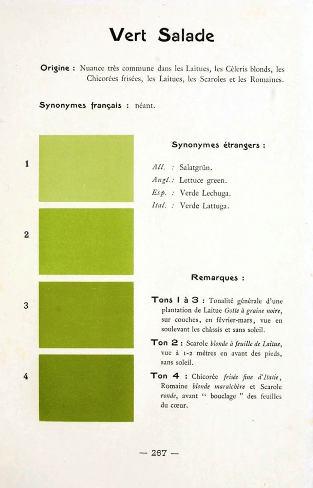 Color - Multi color - French color chart - (9)