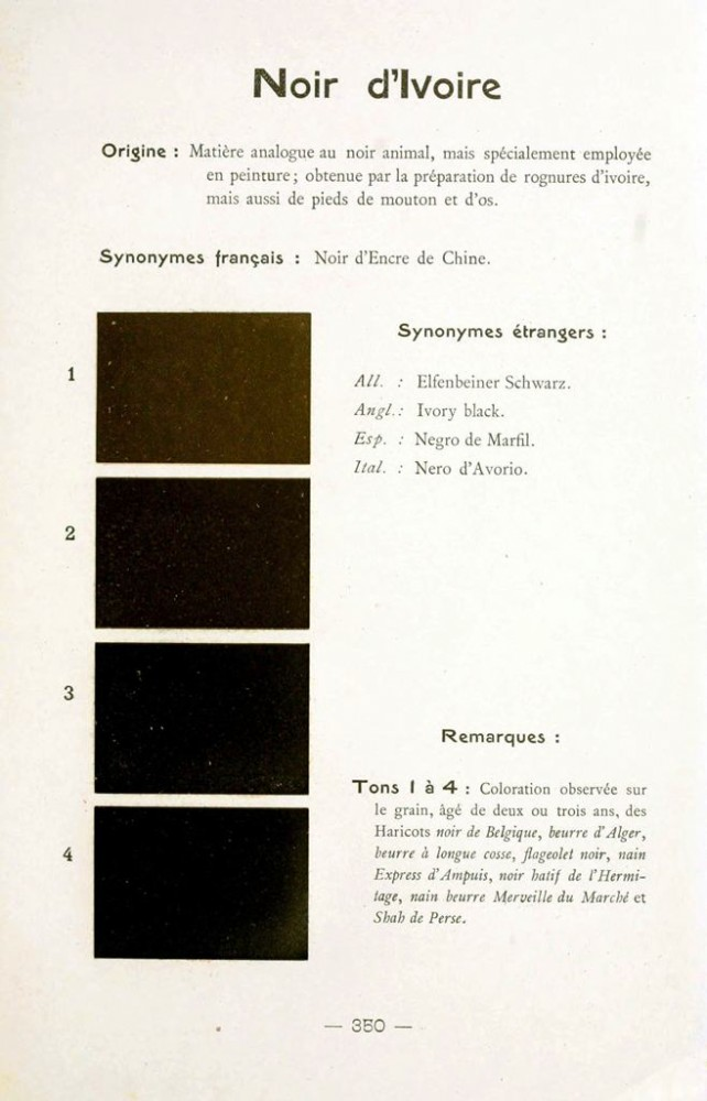 Color - Multi color - French color chart - (92)