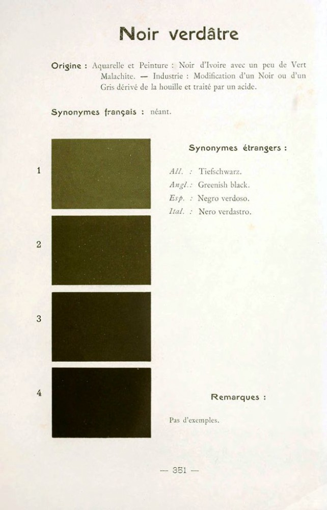 Color - Multi color - French color chart - (93)
