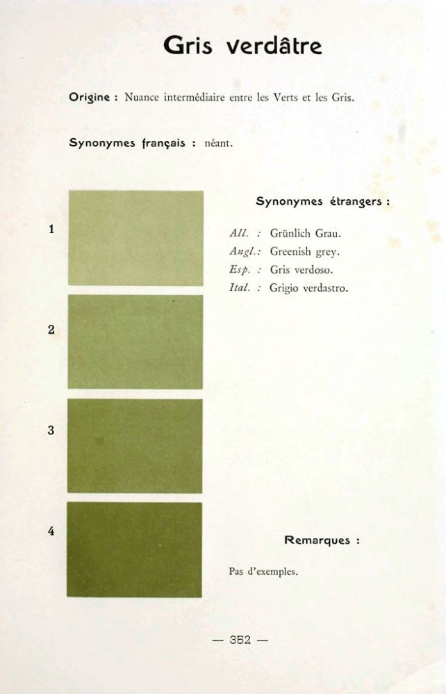 Color - Multi color - French color chart - (94)