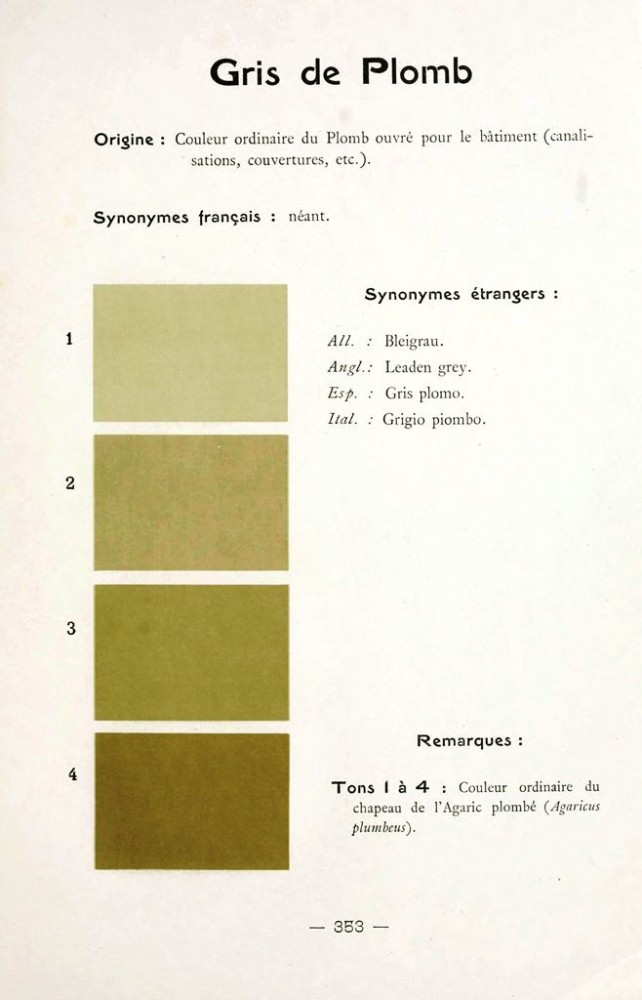 Color - Multi color - French color chart - (95)