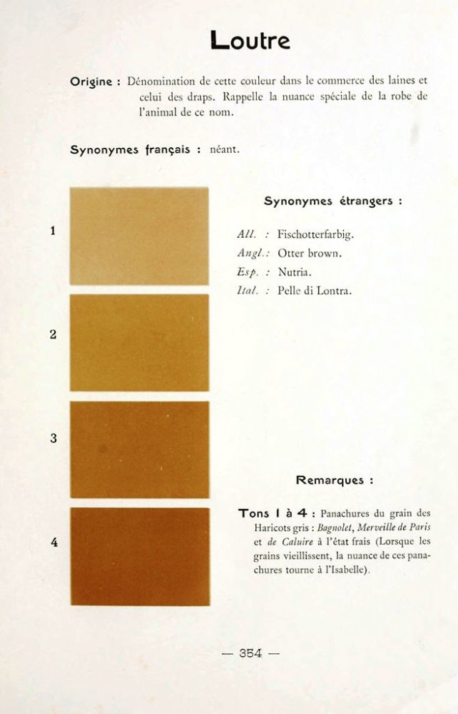 Color - Multi color - French color chart - (96)