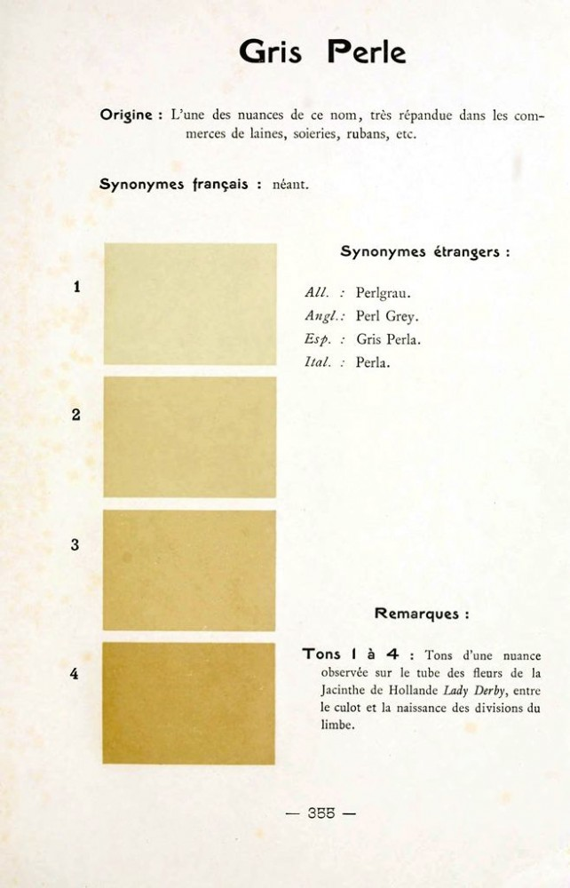 Color - Multi color - French color chart - (97)