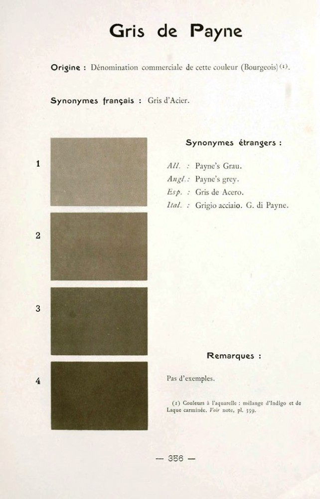 Color - Multi color - French color chart - (98)