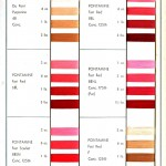 Color - Multiple - Textile color on cotton (Dupont) - Tans, reds