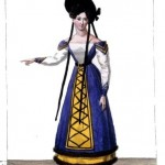 Design - Apparel - Costume - French Theater Female