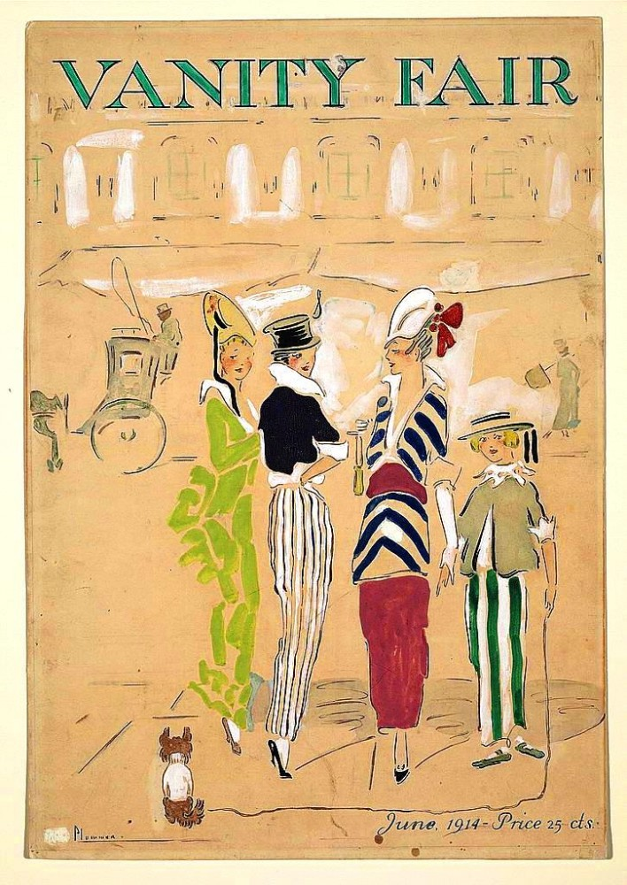 Design - Apparel - Fashion - Vanity Fair cover 1914
