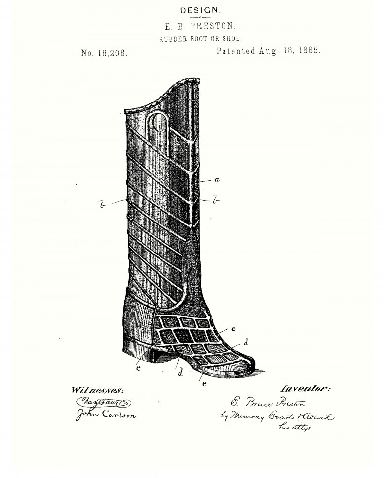 Design - Apparel - Footwear - Boot - Design patent -  (1)