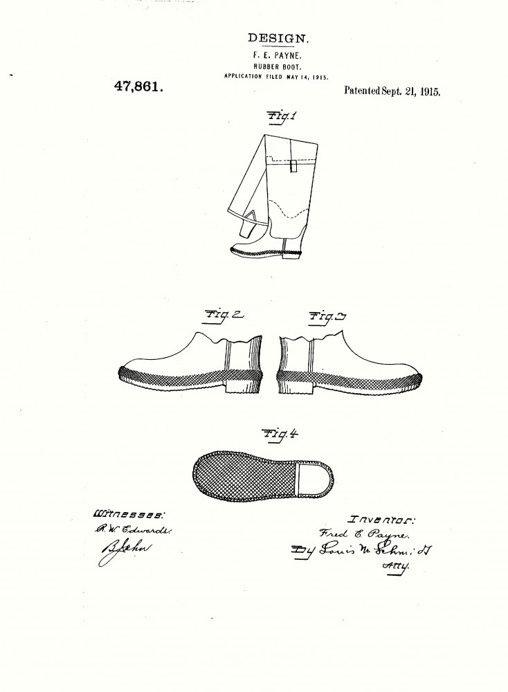 Design - Apparel - Footwear - Boot - Design patent - (13)