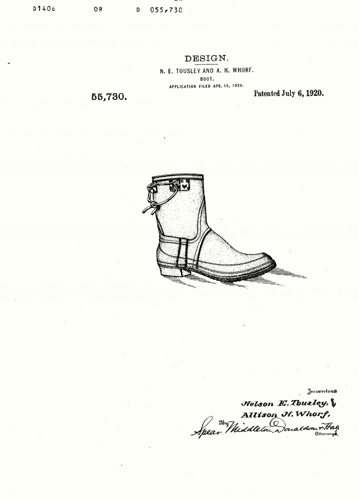 Design - Apparel - Footwear - Boot - Design patent - (16)