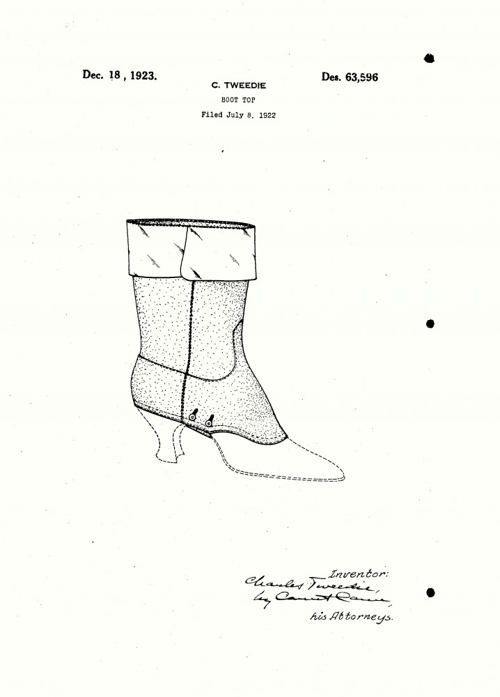 Design - Apparel - Footwear - Boot - Design patent - (18)