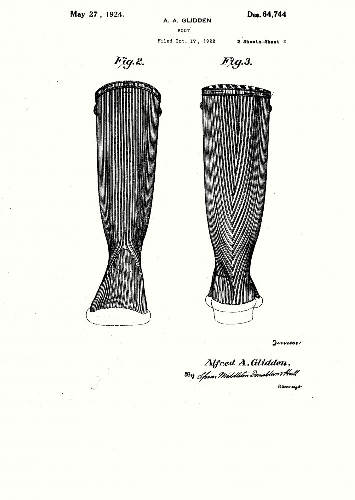 Design - Apparel - Footwear - Boot - Design patent -  (2)