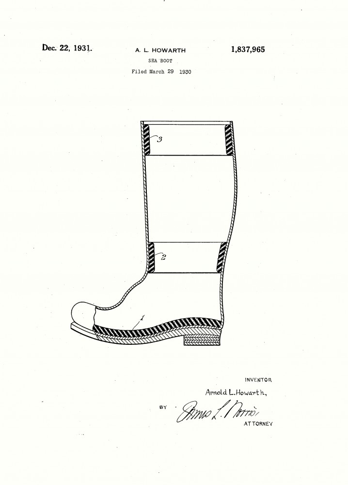 Design - Apparel - Footwear - Boot - Design patent - (20)