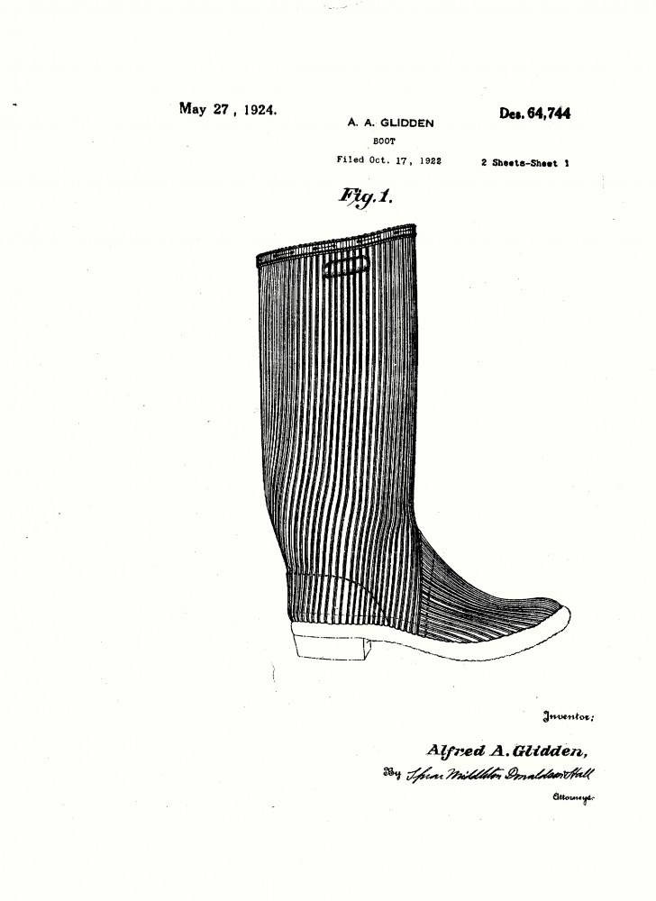 Design - Apparel - Footwear - Boot - Design patent - (3)