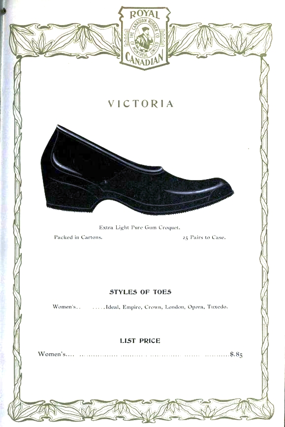 Design - Apparel - Footwear - Boot - Royal Canadian 1906-1907 -  (11)