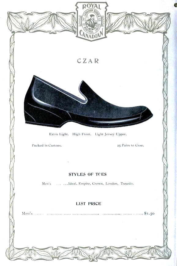 Design - Apparel - Footwear - Boot - Royal Canadian 1906-1907 -  (2)