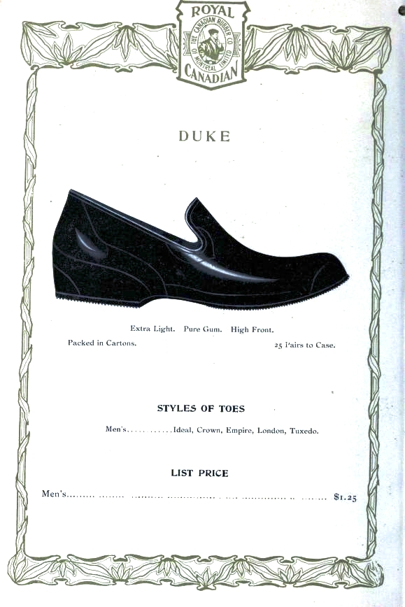 Design - Apparel - Footwear - Boot - Royal Canadian 1906-1907 -  (4)