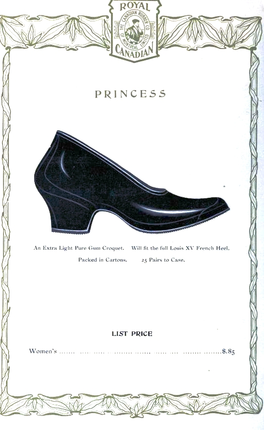 Design - Apparel - Footwear - Boot - Royal Canadian 1906-1907 -  (9)