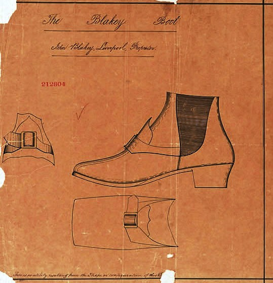 Design - Apparel - Footwear - British - Blakeley Boot (1867)