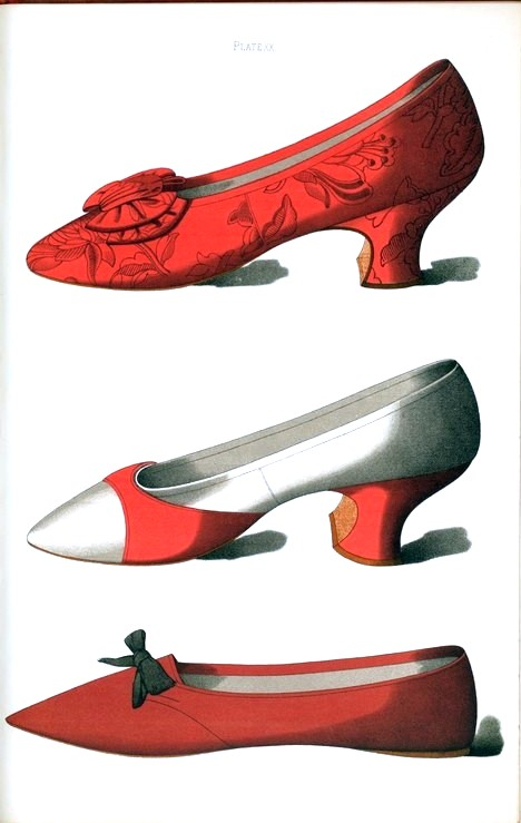 Design - Apparel - Footwear - Shoe - Red shoe design
