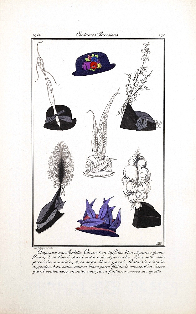 Design - Apparel - Hat - Fashion plate (3)