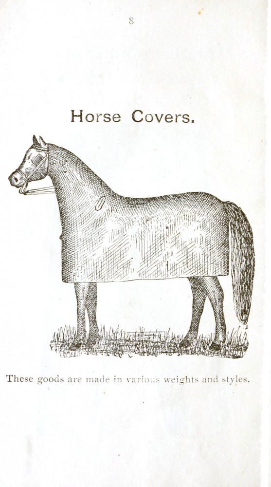 Design - Apparel - Horse cover
