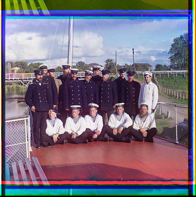 Design - Apparel - Russian - Steamship crew