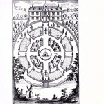 Design - Architectural - Garden Design - English pleasure gardens - Circular garden