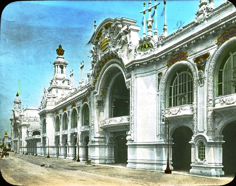 Design - Architectural - Paris Exposition 1900 -