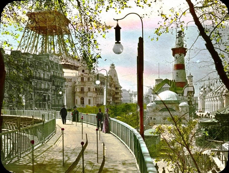 Design - Architectural - Paris Exposition 1900 - (4)