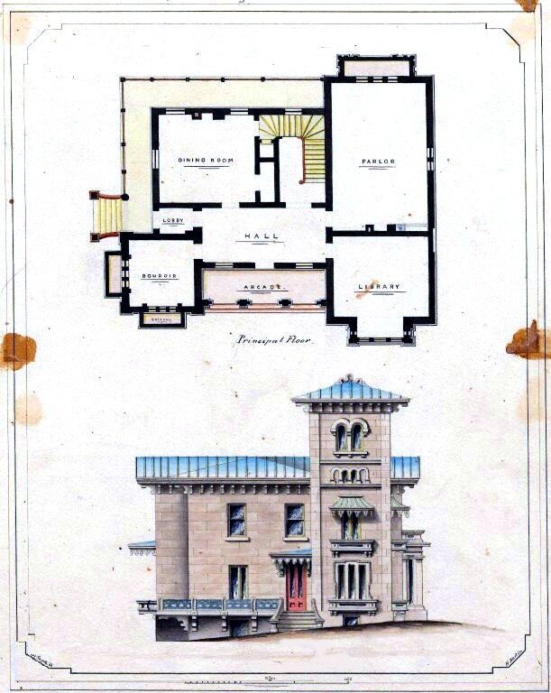 Design - Architectural - Residence - Norton Residence, Floor plan