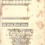 Design - Architectural - Roman capitols and plinths
