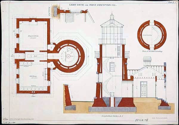 Design - Architectural - US Lighthouse - Point Conception