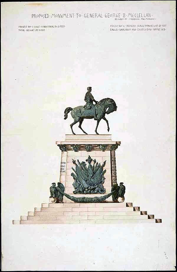 Design - Architectural - US McClellan Monument