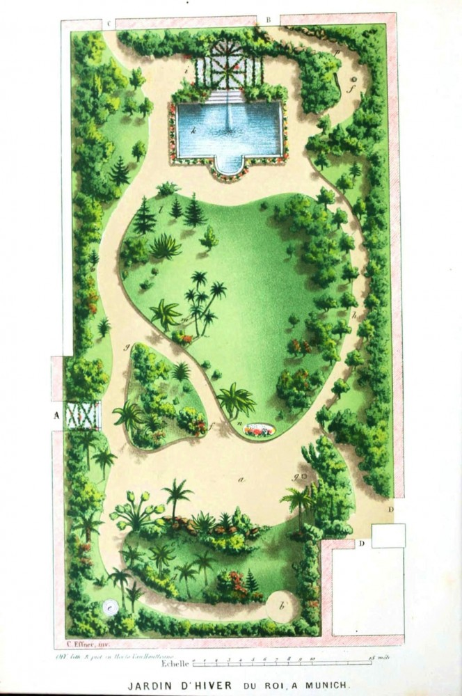 Design – Garden Design – Jardin D'Hiver di Roi, Munich | Vintage on garden center, permaculture design maps, garden plan maps,