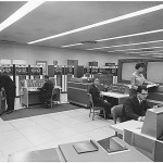 Design - Interior - Photo - 1960's computer room